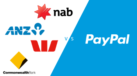 PayPal vs Australian banks for international transfers