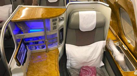 Emirates A380 Business Class Kuala Lumpur to Dubai Review