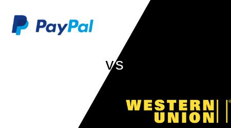 Western Union vs PayPal money transfers