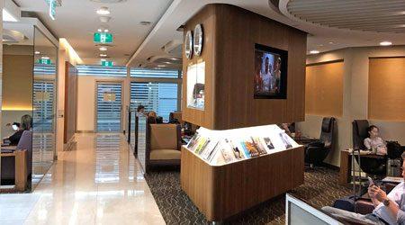 Singapore Airlines SilverKris Lounge Melbourne Review