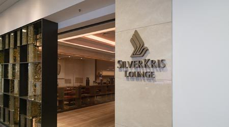 Singapore Airlines SilverKris First Class Lounge Sydney review