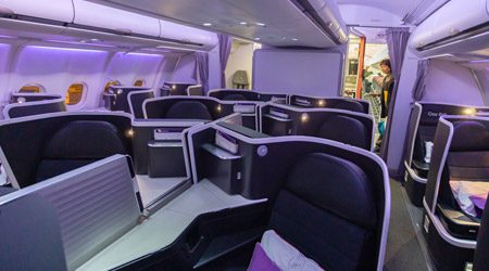 Virgin Australia A330 Business Class Hong Kong to Sydney Review