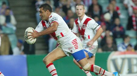 The NRL Match-Up: Top try-scorers