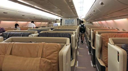 """Singapore Airlines """"Old"""" A380 Business Class Melbourne to Singapore Review"""