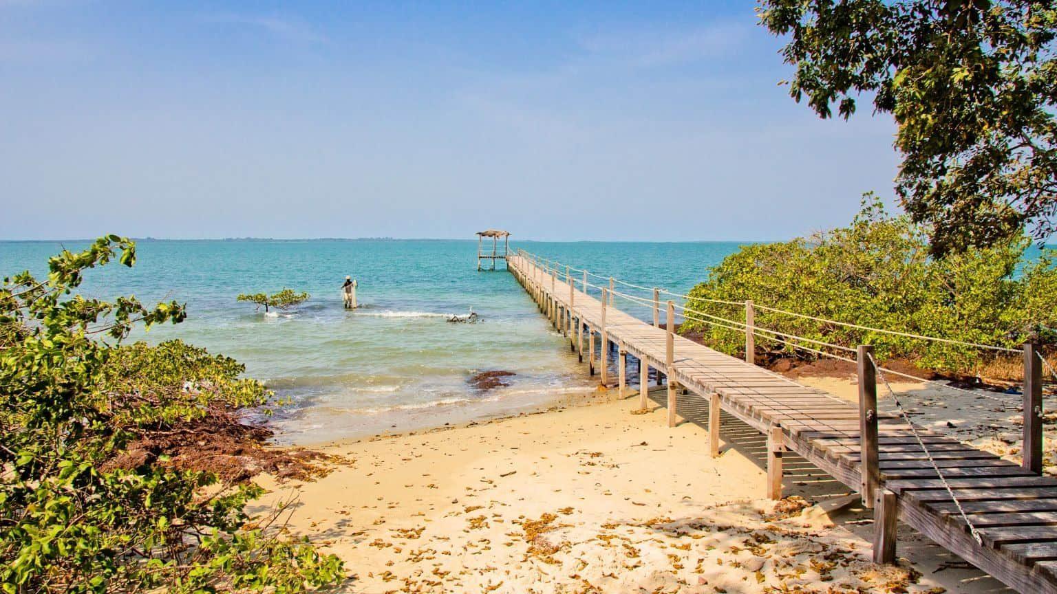 Bissagos Beach, Guinea Bissau