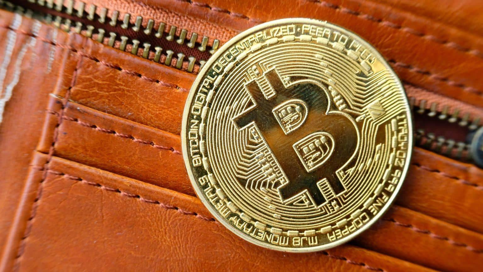 Bitcoin on wallet