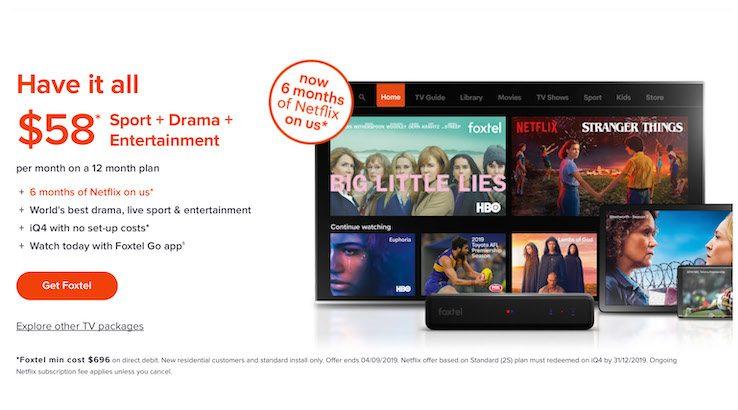 Foxtel Netflix Deal