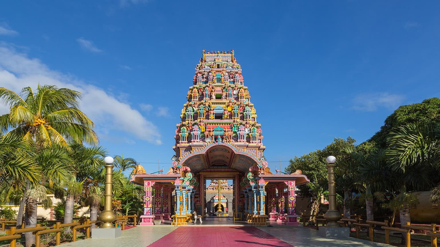 Kalaisson Temple, Port Louis, Mauritius