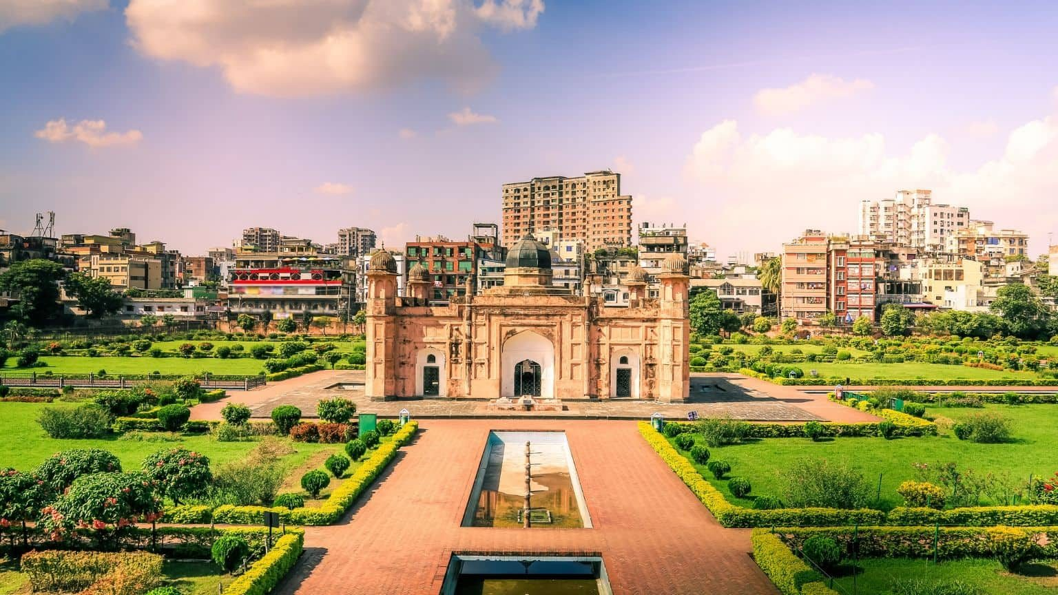 Lalbagh Fort in Bangladesh
