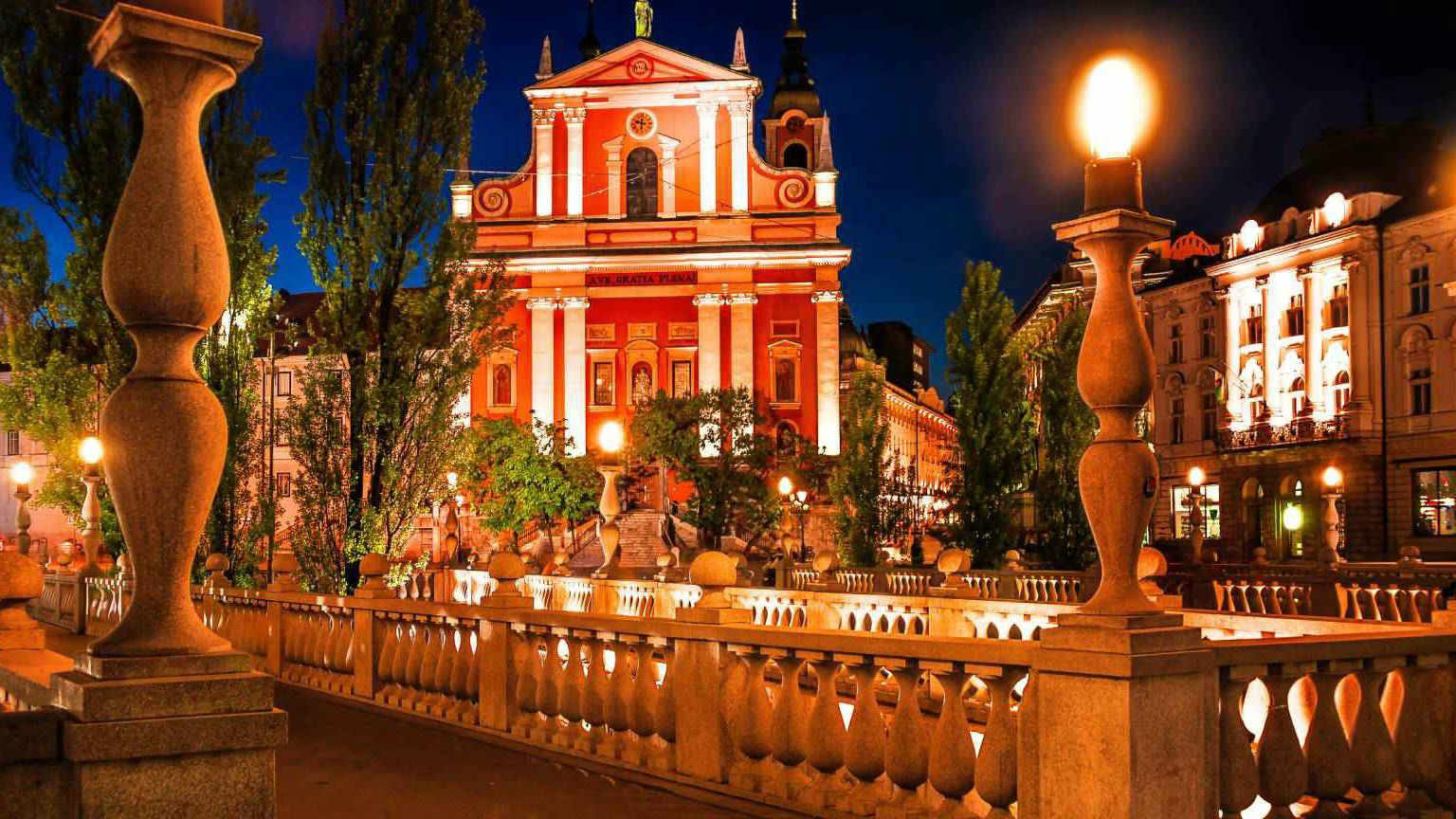 Ljubljana City Slovenia