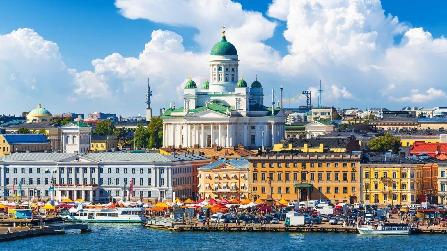 Market Square, Helsinki, Finland