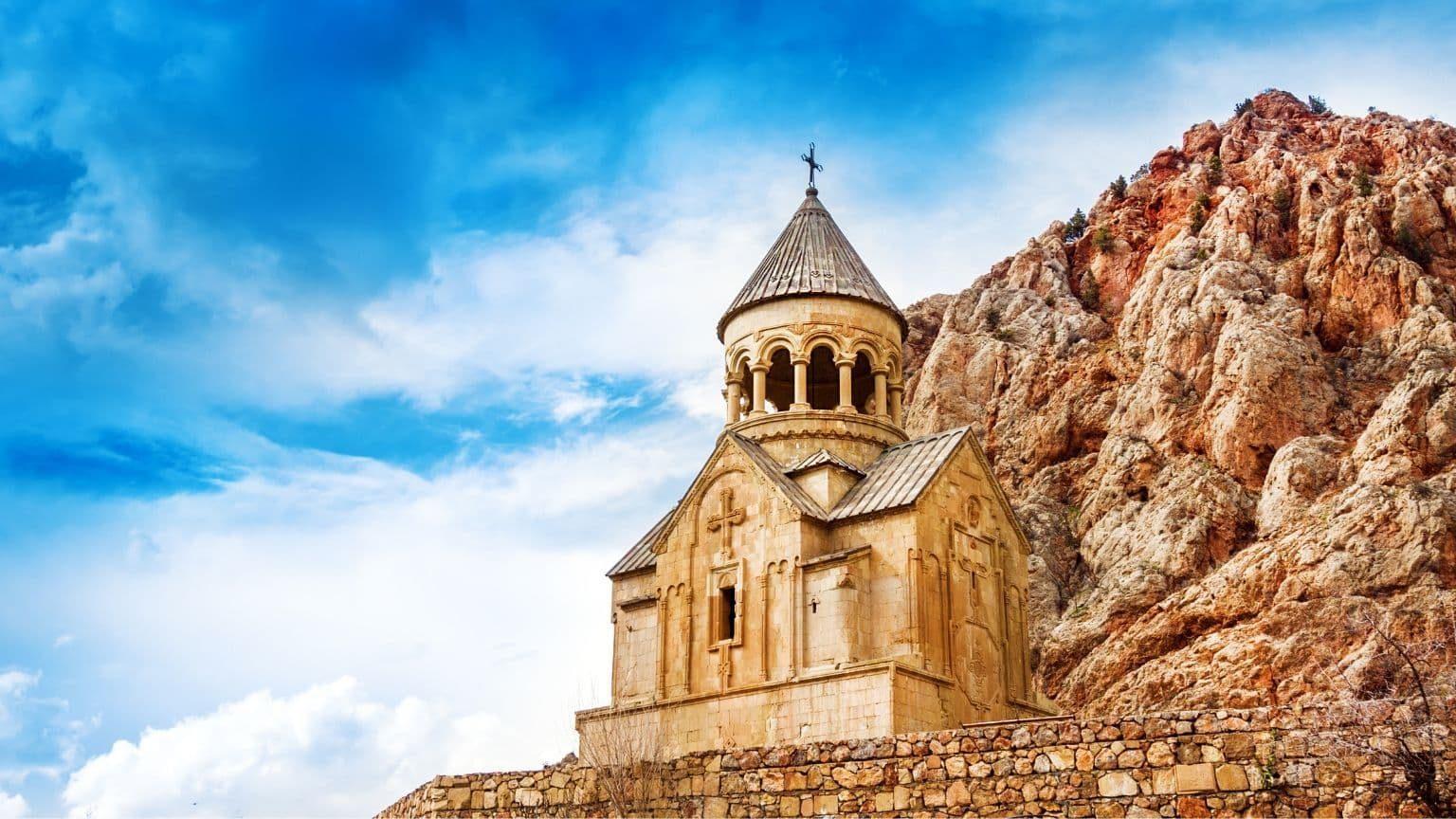 Novarank monastery in Armenia
