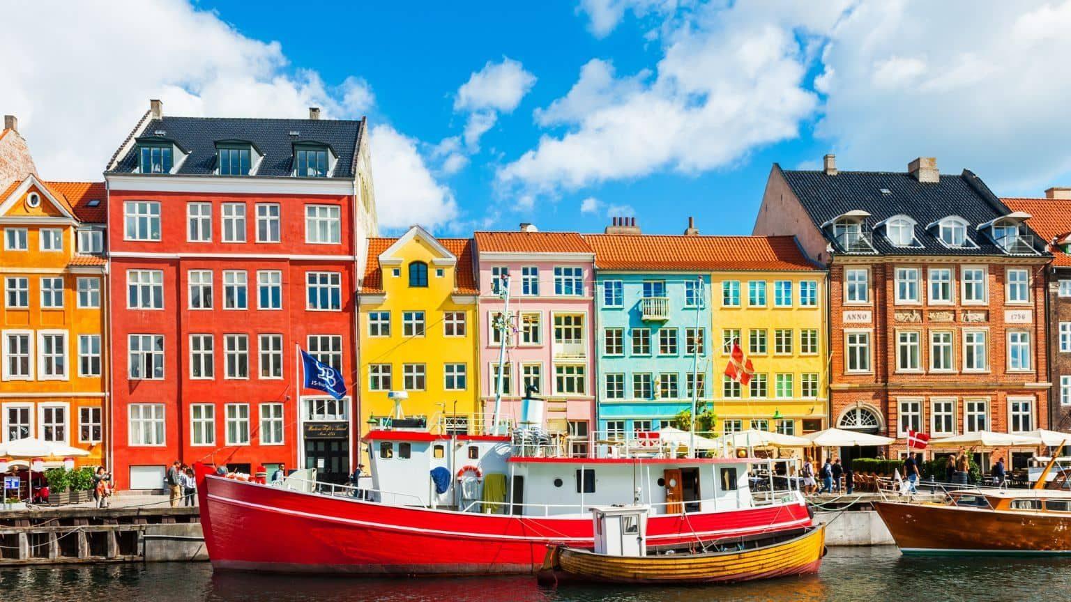 Nyhavn Pier in Copehagen