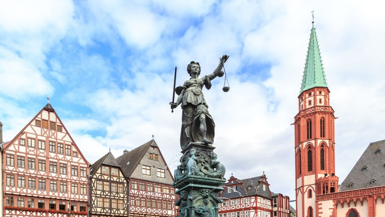 Old Town Square, Frankfurt, Germany