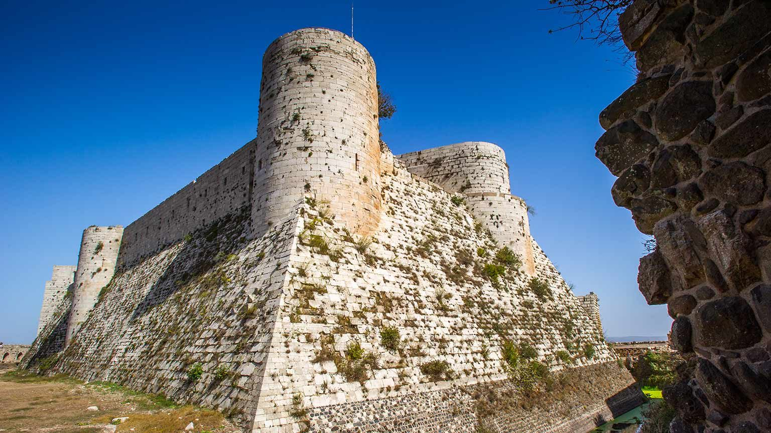 Old castle in Syria