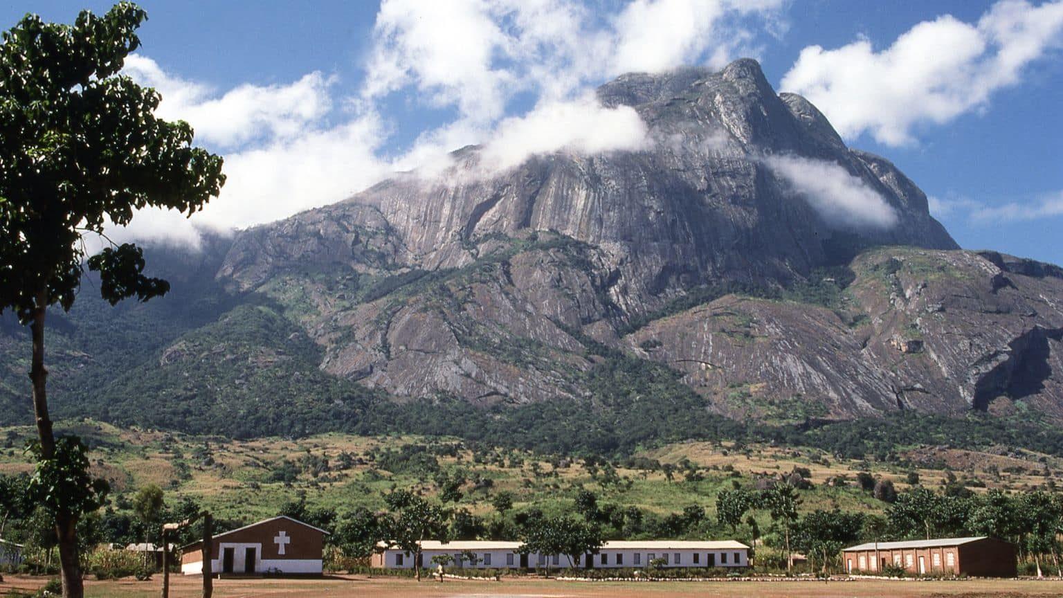 Rocky cliffs of Malawi