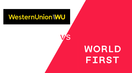Western Union vs WorldFirst