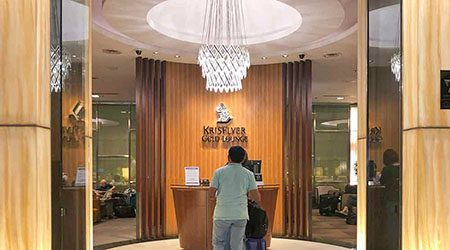 Singapore Airlines KrisFlyer Gold Lounge T3 Singapore Changi review