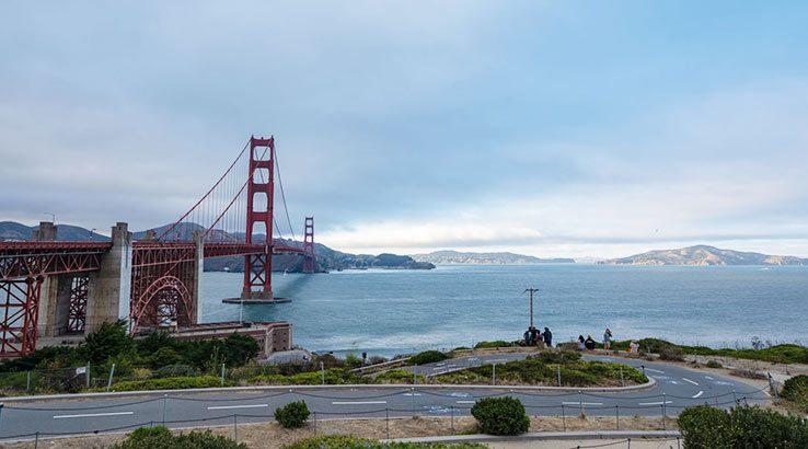 Golden Gate Bridge, San Fran.