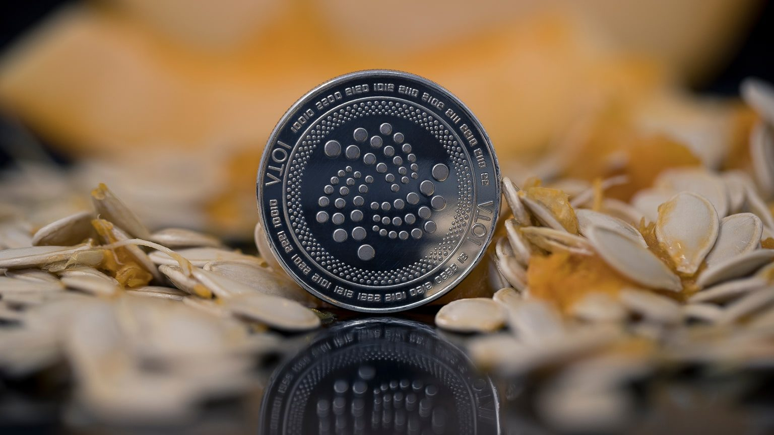 Iota cryptocurrency physical coin