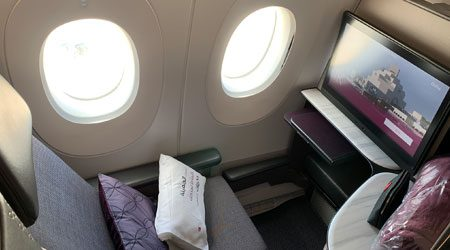 Qatar Airways QSuites Business Class Singapore to Doha Review