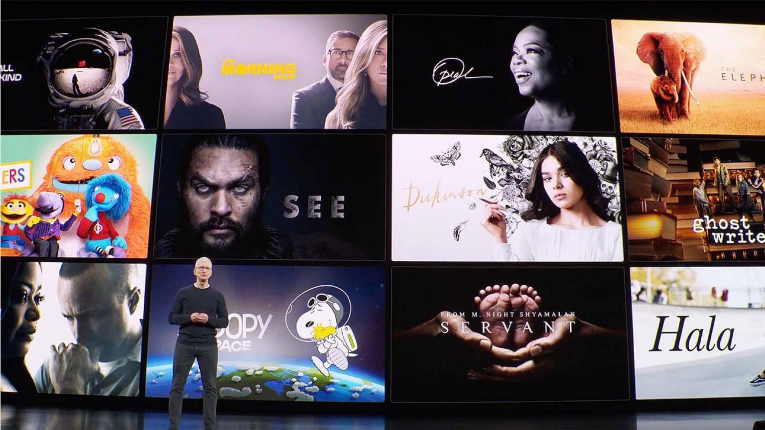 List Apple TV Plus Shows M