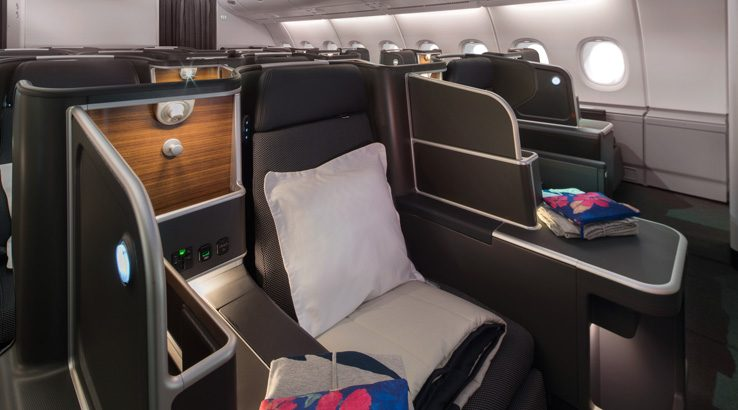Qantas A380 refurbished Business Suite