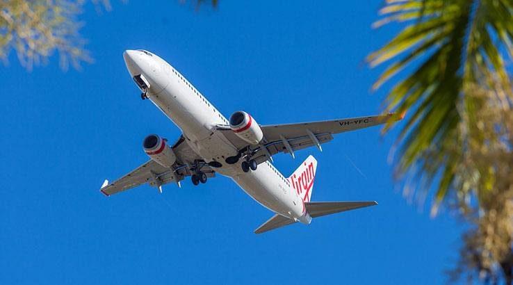 Virgin Australia plane.