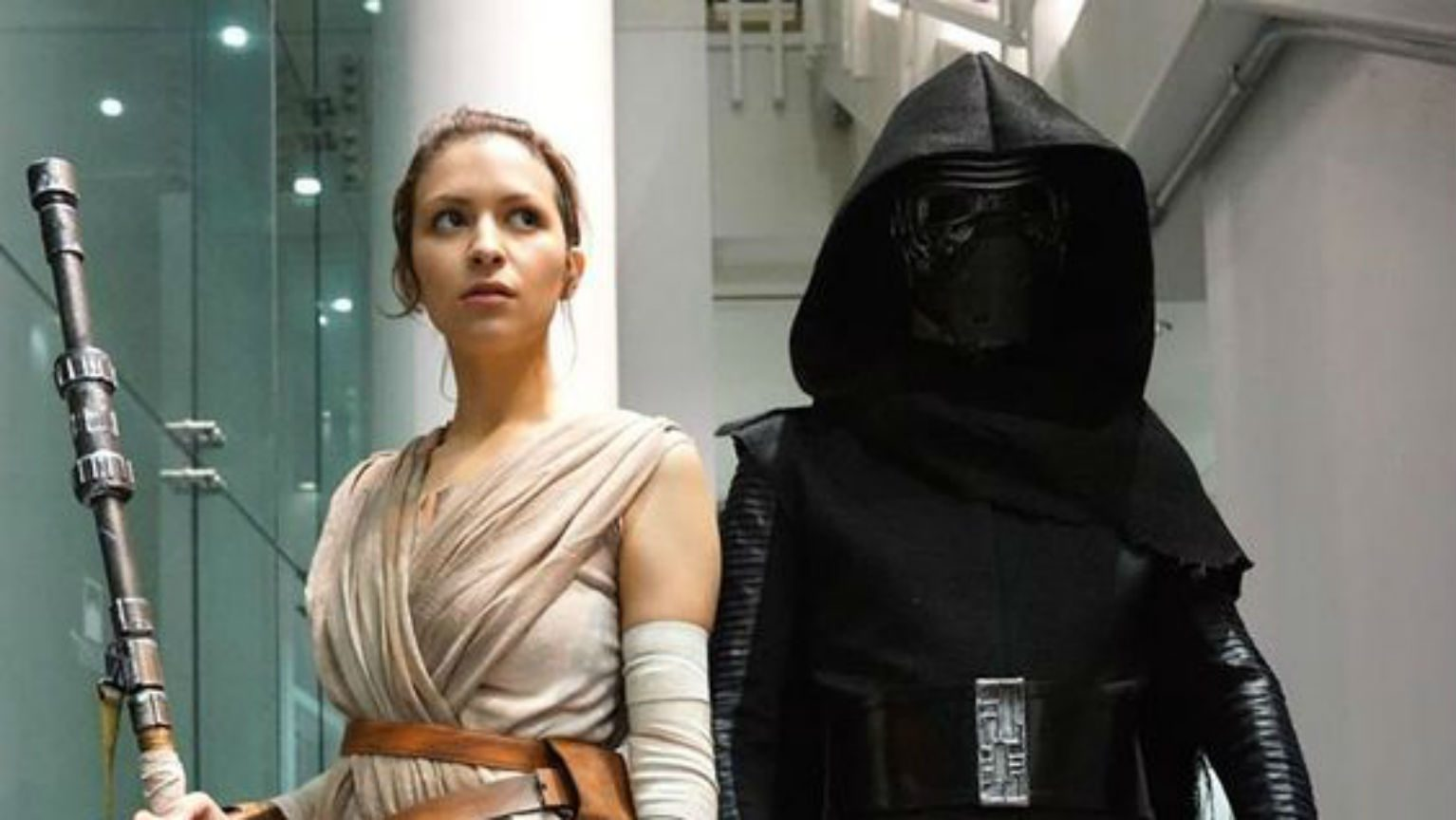 Kylo and Rey costumes