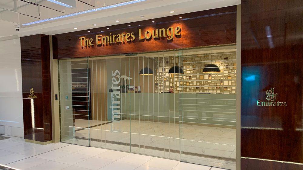 Emirates Melbourne Lounge entry
