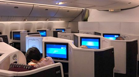 Japan Airlines 777-200ER Business Class Review