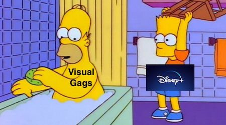 Disney+ to fix The Simpsons visual gag snuffing with aspect ratio tweak