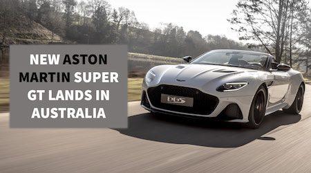 Aston Martin DBS Superleggera Volante Australian release date and price