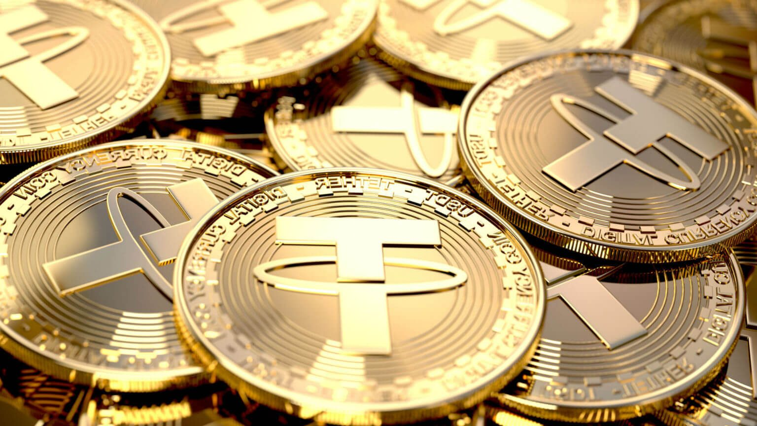 Tether coins