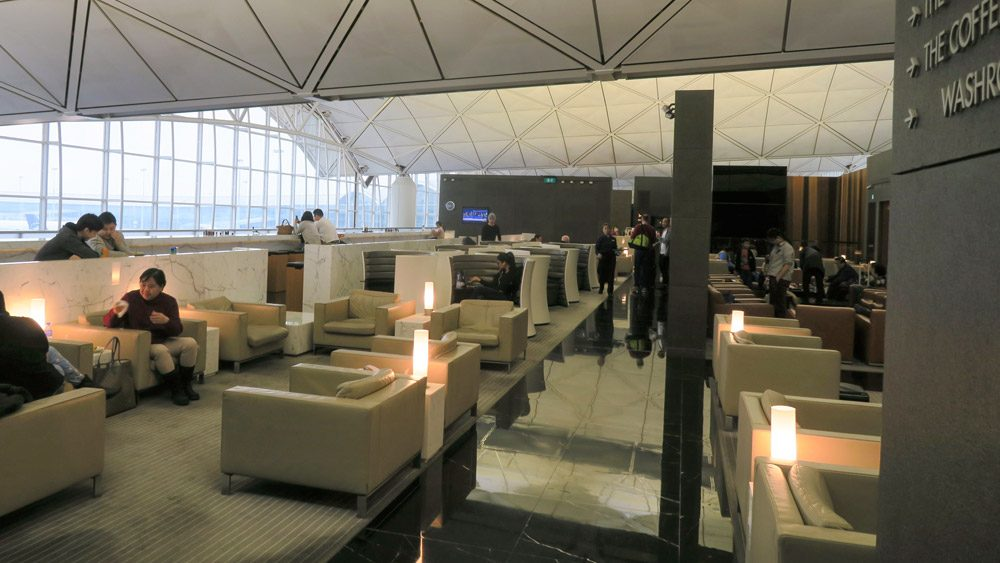 Balcony level of The Wing lounge