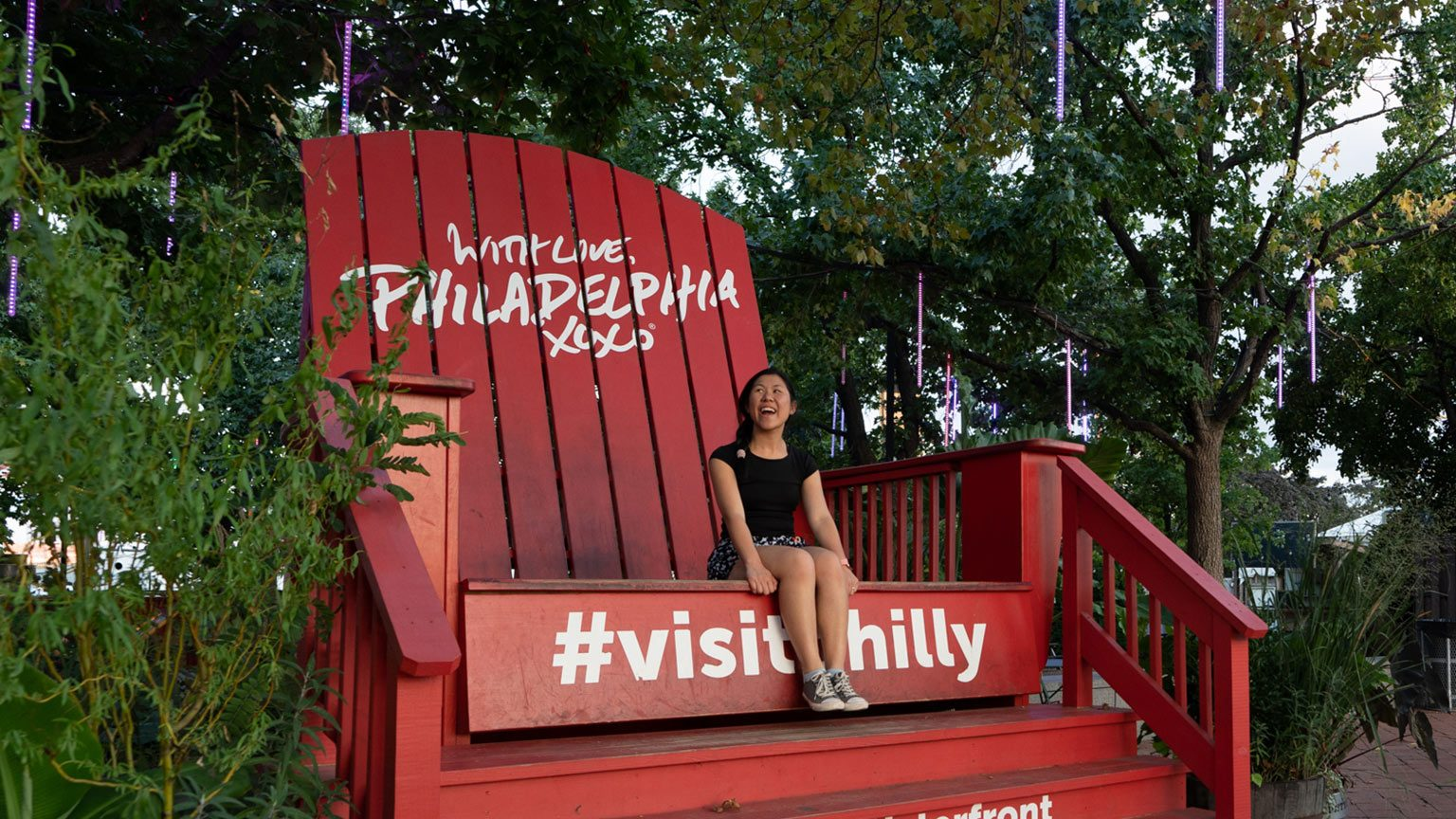Welcome to Philadelphia chair.