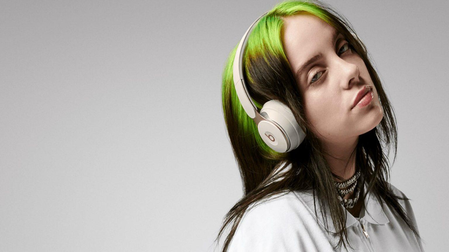 girl wearing beats headphones
