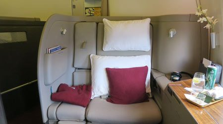 Cathay Pacific 777-300ER First Class Review