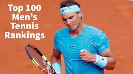 Top 100 Men S Tennis Rankings Atp Tour 2020