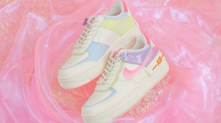 First Look At The Pastel Nike Air Force 1 2020 Shadow Sneakers Finder Women's nike air force 1 shadow se casual shoes. first look at the pastel nike air force