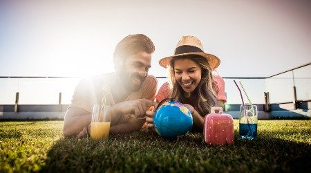 How to budget for a holiday   A couple of travel makers