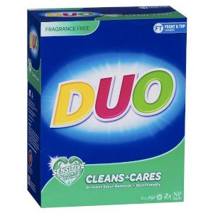 Duo Laundry Powder Cleans And Cares