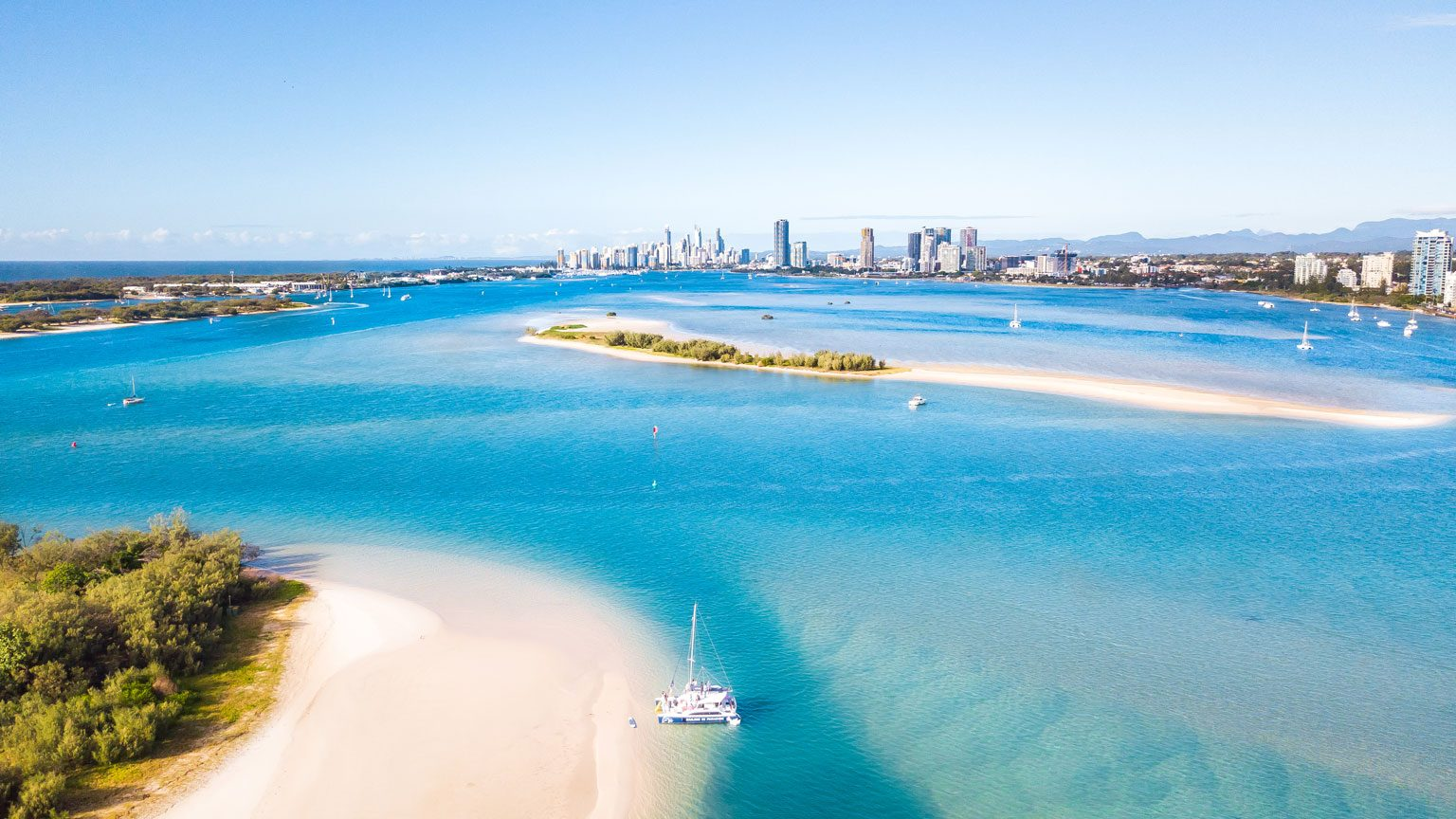Aerial View of the Gold Coast, Australia