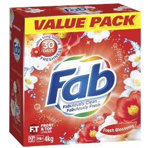 Fab Laundry Detergent Washing Powder