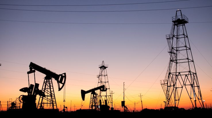 Oil production in Azerbaijan.