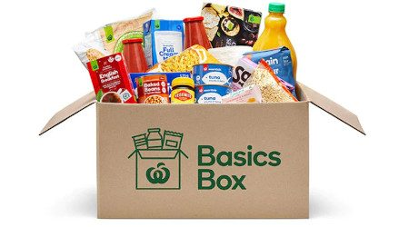 "What's In the Woolworths ""Basics Box"" and how to get it"