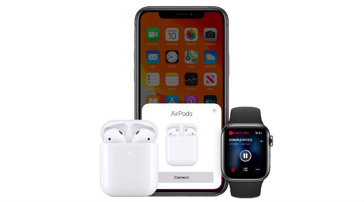 IPhone et AirPod d'Apple
