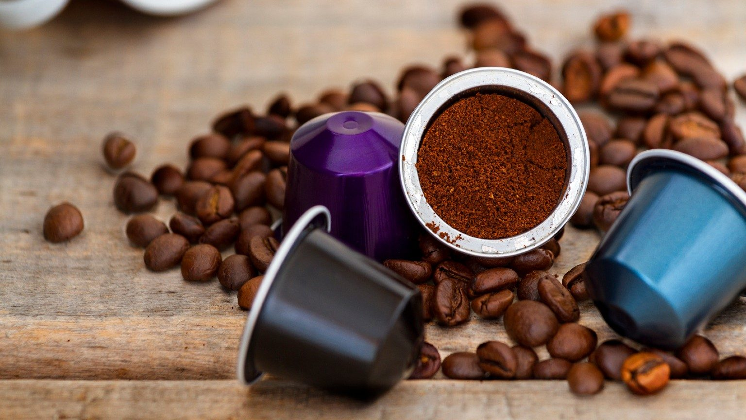 Coffee and capsules