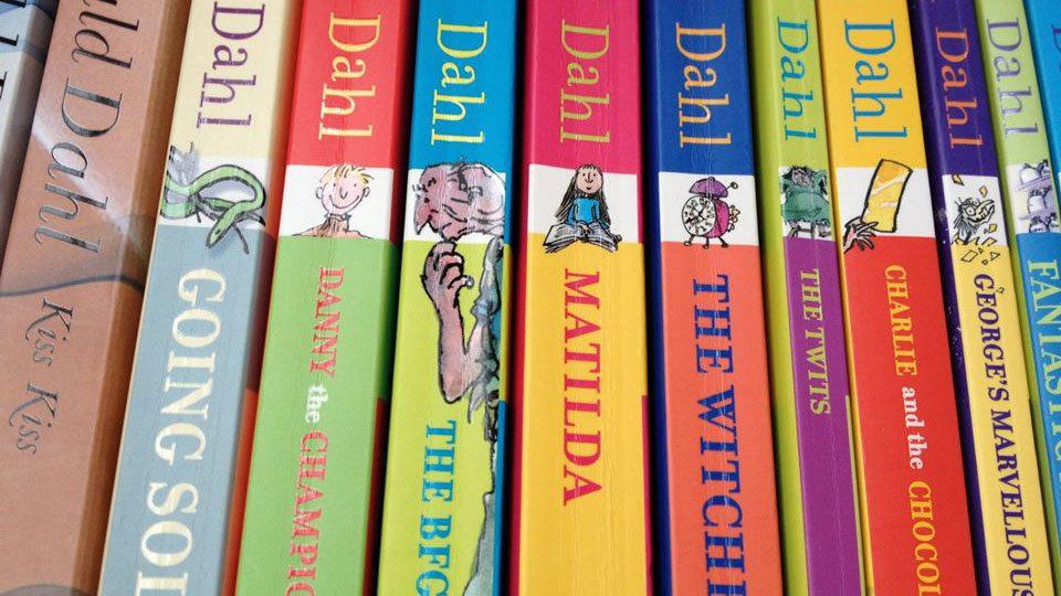 Roald Dalh books