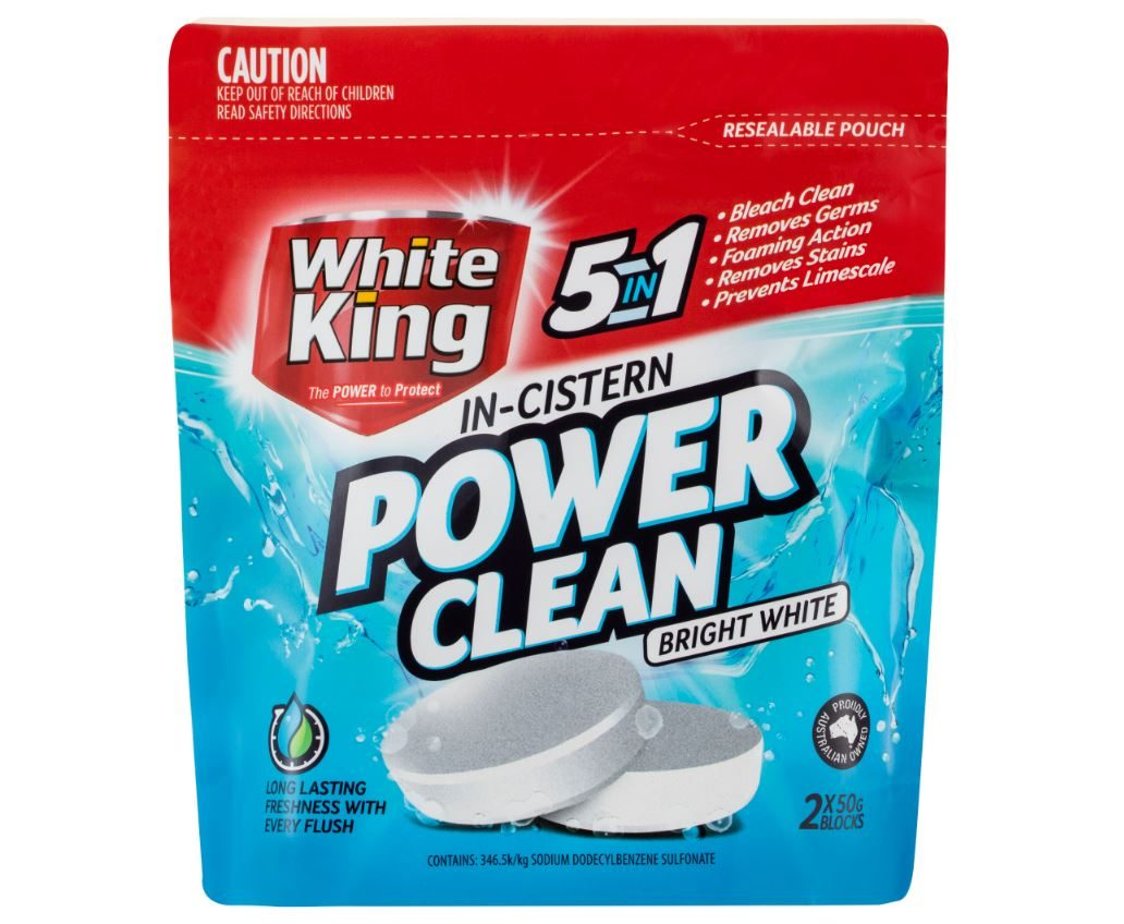 White King In-Cistern Power Clean